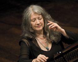 Martha Argerich pianist