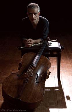 Italian cellist Giovanni Sollima