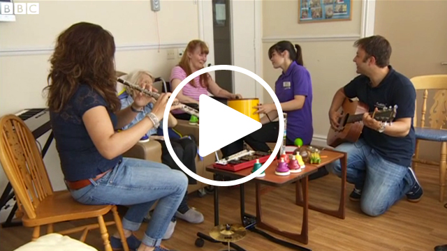 BBC: Manchester Camerata provide music therapy for dementia patients