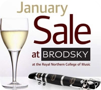 Brdosky at the RNCM January Sale