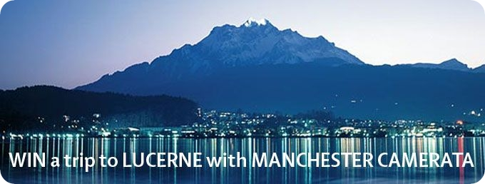 trip to Lucerne with Manchester Camerata