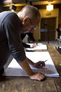Composer Peter Wiegold