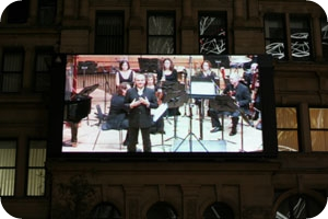 Manchester Camerata in Exchange Square