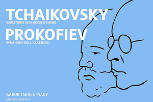 Gabor Takacs Nagy conducting Prokovief and Tchaikovsky with Manchester Camerata