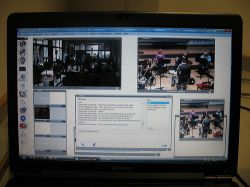 Managing the web streams from Manchester and Venice