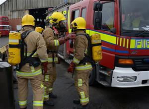 Fire fighter image courtesy of www.cheshirefire.gov.uk