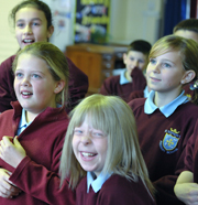 Manchester Camerata's 2011/12 cross curricular Key Stage 1 & 2 workshops
