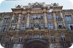 The Lizst Ferenc Academy in Budapest