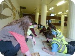 Lowton West Primary school children