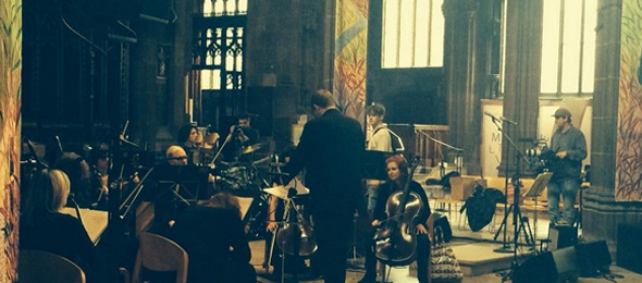 Bill-Ryder Jones at Manchester Cathedral