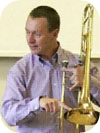 Trombonist Tim Chatterton