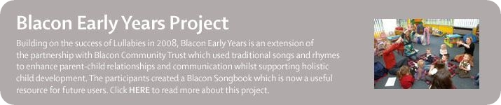Blacon Early Years Project from Manchester Camerata