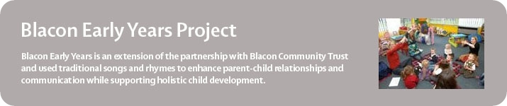 Manchester Camerata Blacon Early Years Project