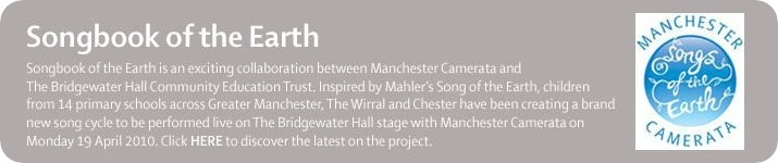 Songbook of the Earth from Manchester Camerata