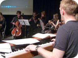 Stafford Urban Symphony ensemble