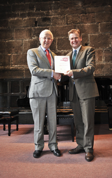 Nigel Hirst honoured as North West cultural champion