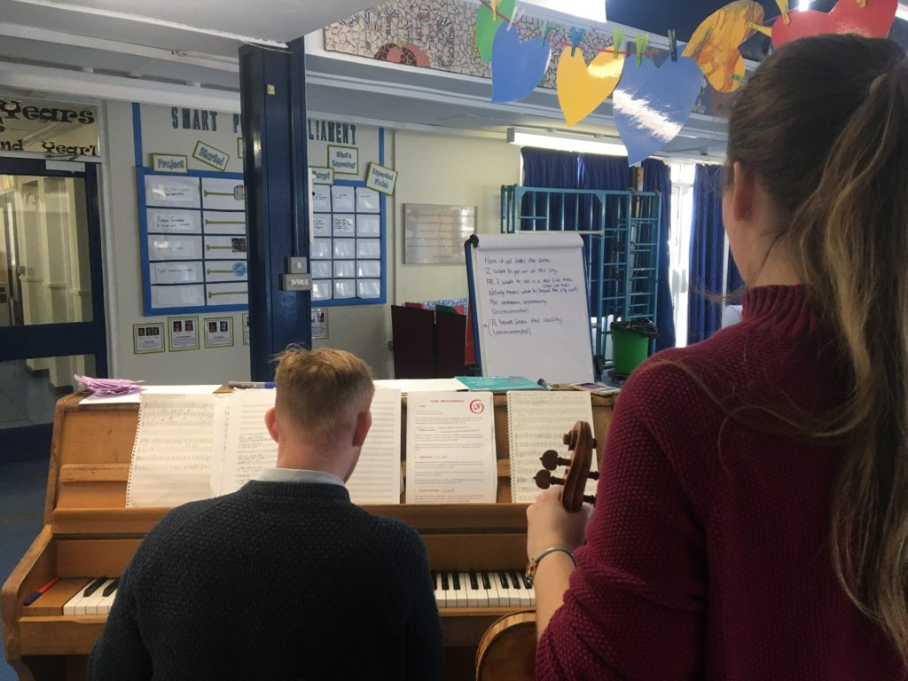 First Notes Project Begins With Music Sessions At 22 Manchester Primary Schools