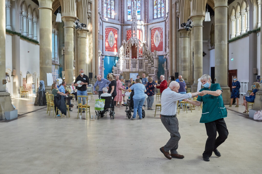 The Guardian, ITV and BBC News cover our Music Café at The Monastery.
